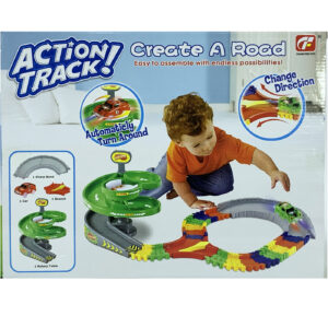 MasterHome Baby ACTION TRACK! ROTARY 2