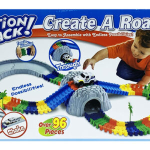 MasterHome Baby ACTION TRACK+TUNNEL 96Pz-