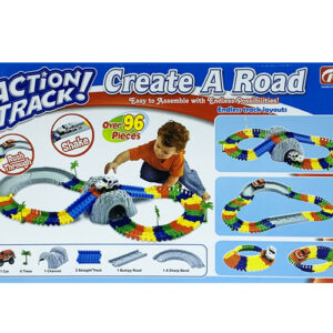MasterHome Baby ACTION TRACK+TUNNEL1 96Pz