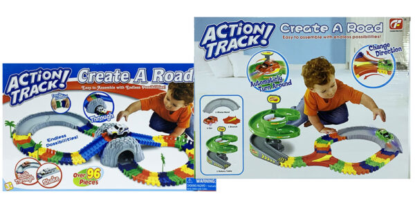 MasterHome Baby ACTION TRACK TUNNEL ROTARY 156Pz