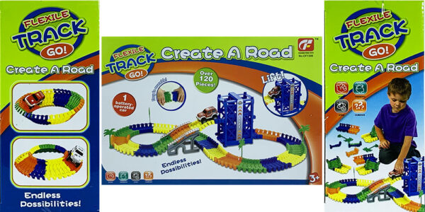 MasterHome Baby CREATE A ROAD! LIFT 2 216Pz