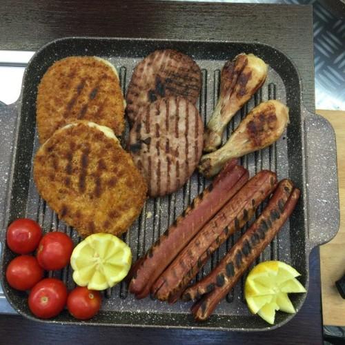 griglia masterhome con carne