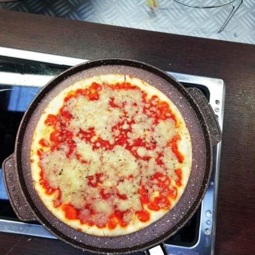 padella con pizza