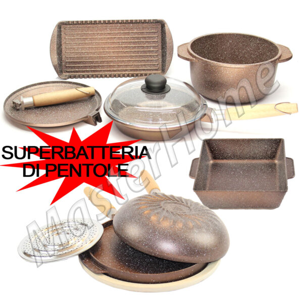 super batteria gold completa