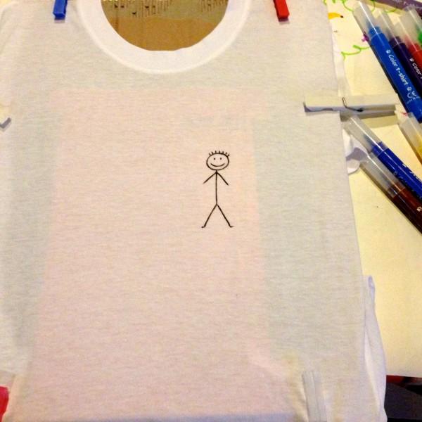 maglia disegnata