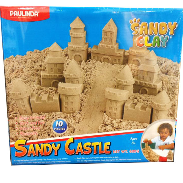 sandy castle scatola